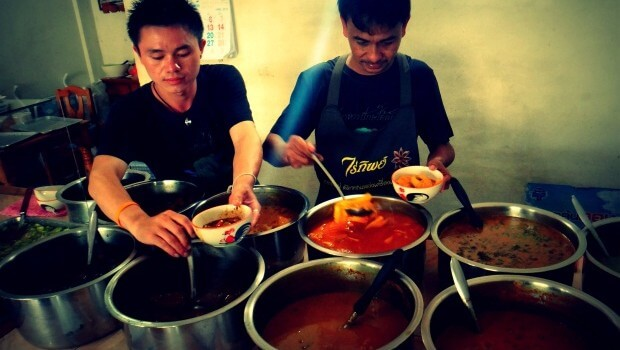 Spicy mad i Chiang Mai
