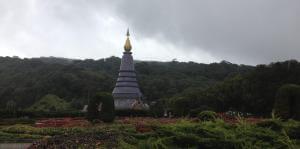 Doi-Inthanon-vandfald-templer
