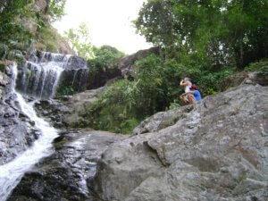 Huay Kaew Waterfall i Chiang Mai, Nordthailand