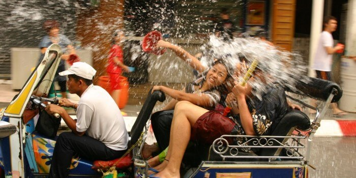 Songkran 2013 – Thailandsk nytår og kæmpe vandfest