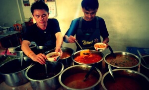 Spicy mad i Chiang Mai, Nordthailand