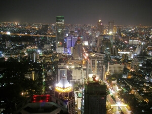 Tag til Bangkok fra Chiang Mai