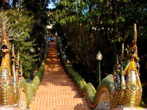 Trappen til Doi Suthep