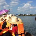Turen tilbage fra templet på søen