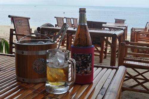 Isterninger til øllen – Standard i Thailand