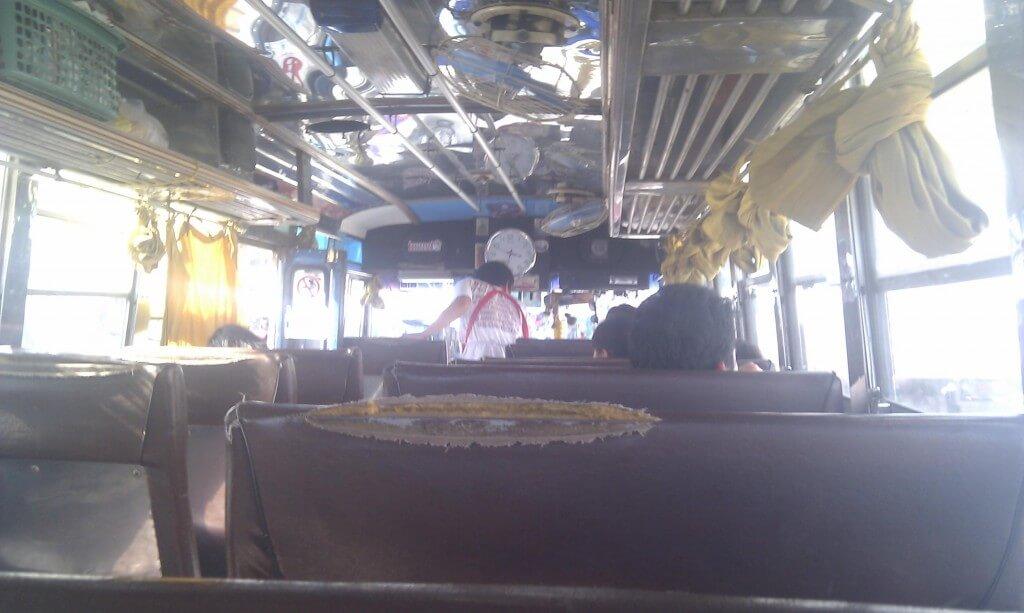 Gammel bus fra CM til Hot – 74 Bath