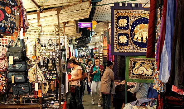 Et udvalg af markeder i Chiang Mai