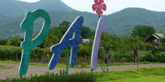 Soon there is plenty of romance in the air in Pai
