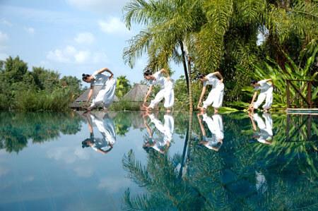 Dyrk motion i Chiang Mai