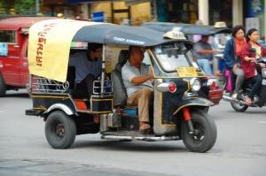 Tuk Tuk scam Bangkok