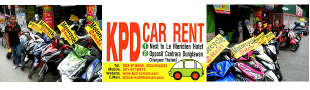KPD Car and bike rent chiang mai