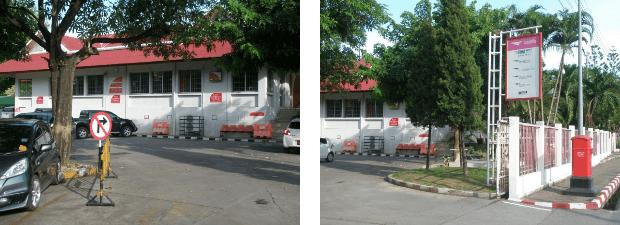 posthuset på Khang Suksala Rd i Chiang Mai