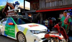 google car stopped in north thailand