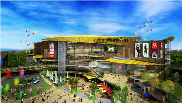3 nye kæmpe shoppingcentre i Chiang Mai