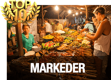 Top 10 markeder i Chiang Mai