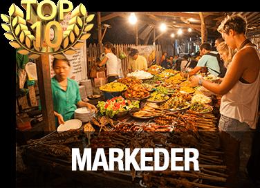 Top 10 markeder i Chiang Mai