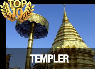 Top 10 templer i Chiang Mai