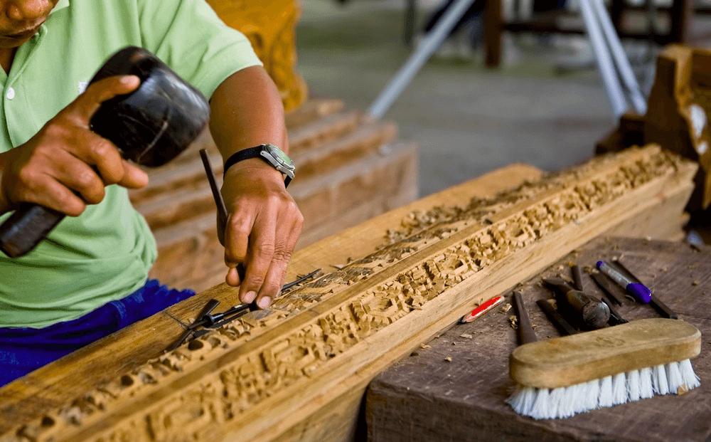 Besøg håndværk landsbyen