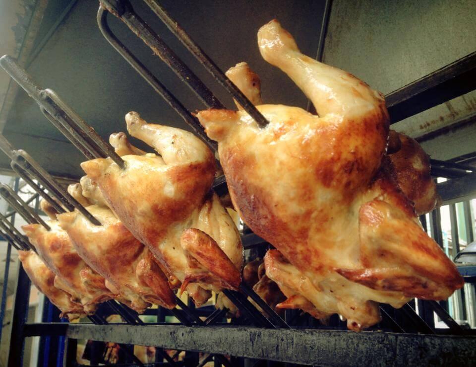 Den bedste grillet kylling i byen
