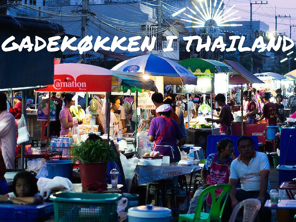 Gadekøkken i Thailand