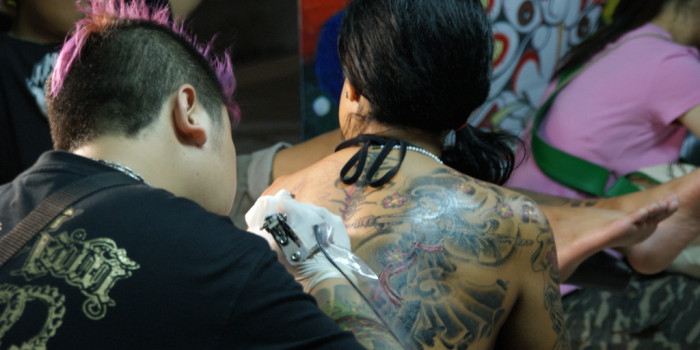 Tattoo in Thailand