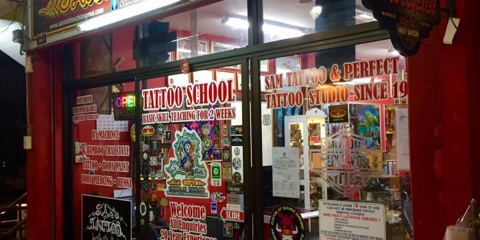 Guide til tatovering i Chiang Mai, Thailand.