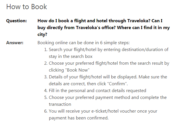 traveloka hvordan booker man how to book
