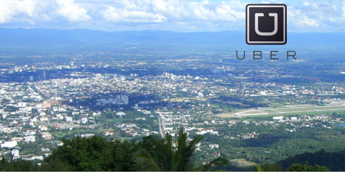 Uber has come to Chiang Mai