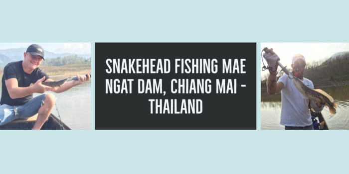 Snakehead fishing in Mae Ngat Dam