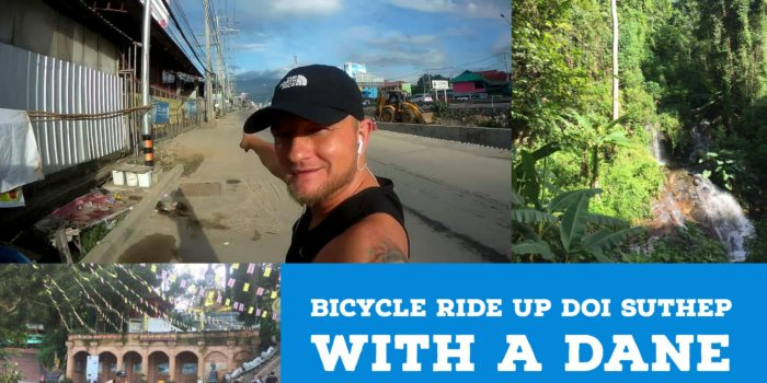 VIDEO: On the bike up the mountain Doi Suthep